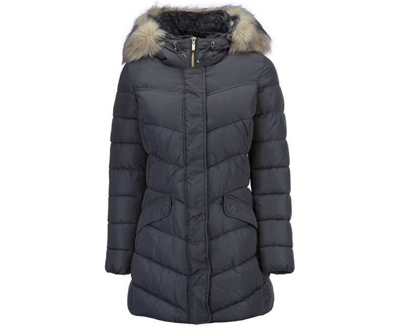 GEOX Dámská bunda Woman Jacket Dark Rock W7428D-T2410-F1414