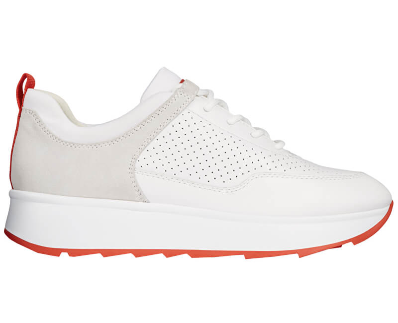 GEOX Dámské tenisky Gendry B White/Off White D925TB-08522-C1352