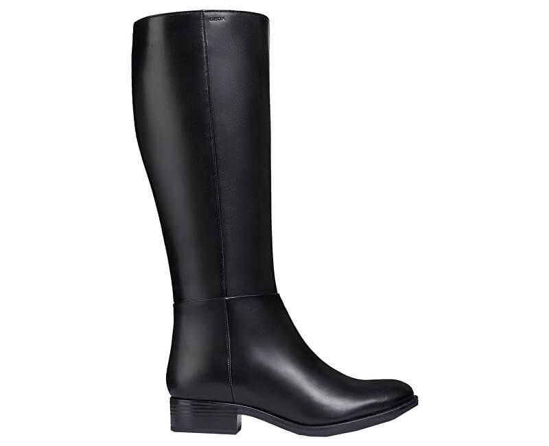 Geox Cizme pentru femei D Felicity Black D84G1D-00043-C9999