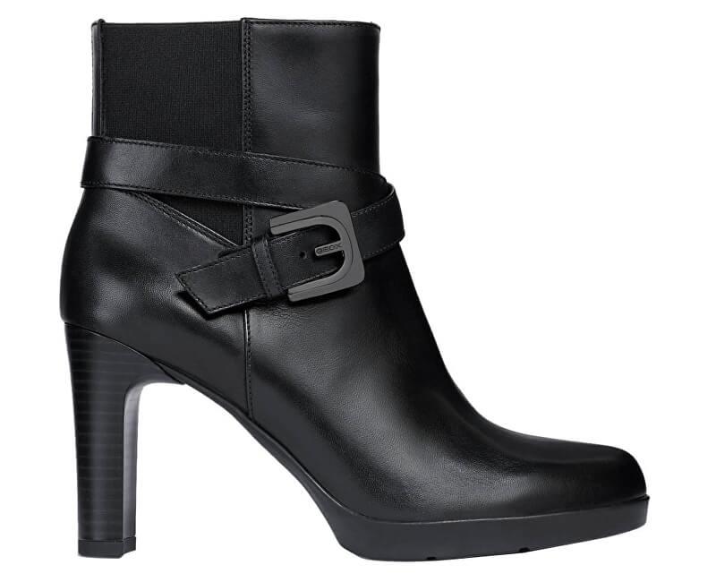 28477de023 GEOX Dámske členkové topánky Annya HE Black D84AEE-00043-C9999 ...