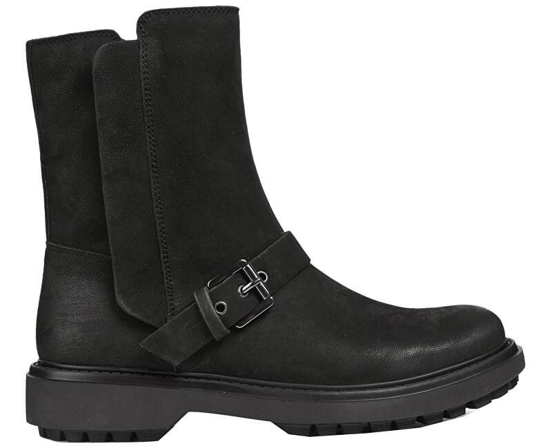 GEOX Dámské kotníkové boty Asheely F Black D847AF-000LT-C9999