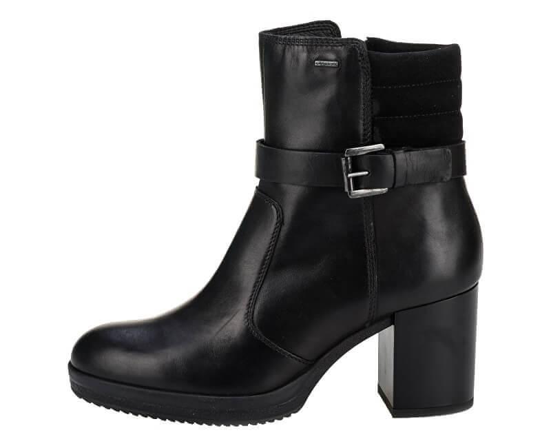 26a22c967b7c Geox Dámske členkové topánky Remi gia Np ABX C Black D84AVC-04322-C9999