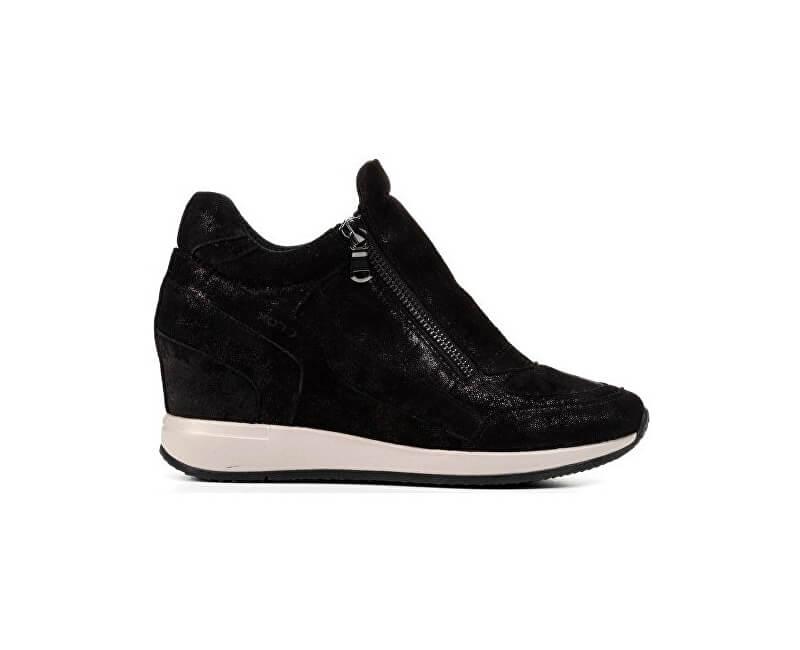 GEOX Elegantné dámske topánky Nydame Black D620QA-000MA-C9999 ... 0ecfaf8ca4