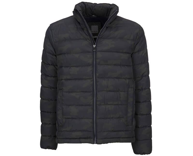GEOX Pánská bunda Black/M.Night/Gren/N M7428M-TF238-F9053