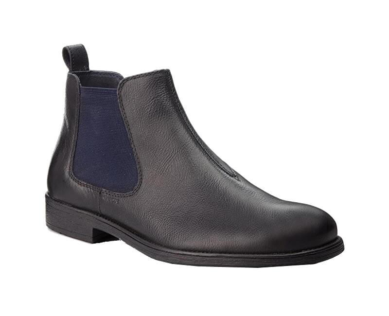 653a7125f8 GEOX Pánske členkové topánky Jaylon H Black U84Y7H-000EM-C9999 ...