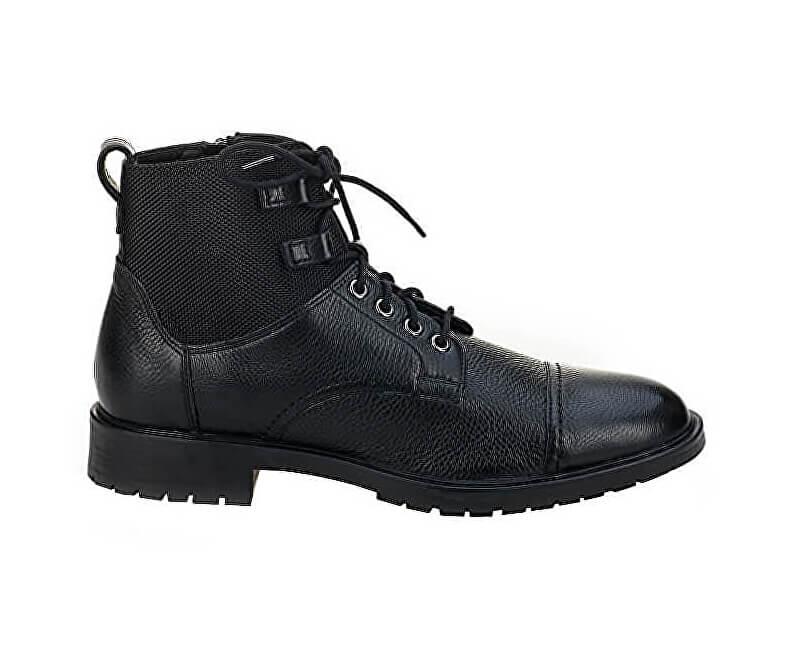 29831723ba2 GEOX Pánské kotníkové boty Kapsian Ebony U743PA-00023-C6027 Doprava ...