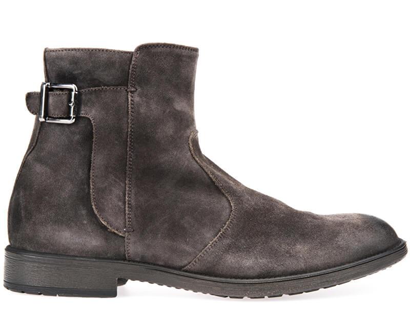 c0b916bd56 GEOX Pánske kožené topánky Jaylon Mud U74Y7A-00022-C6372 Doprava ...