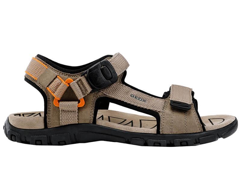 8bb611dcb912 GEOX Pánské sandále Uomo Sandal Strada B Sand Orange U9224B-000AF-C0704  Novinka