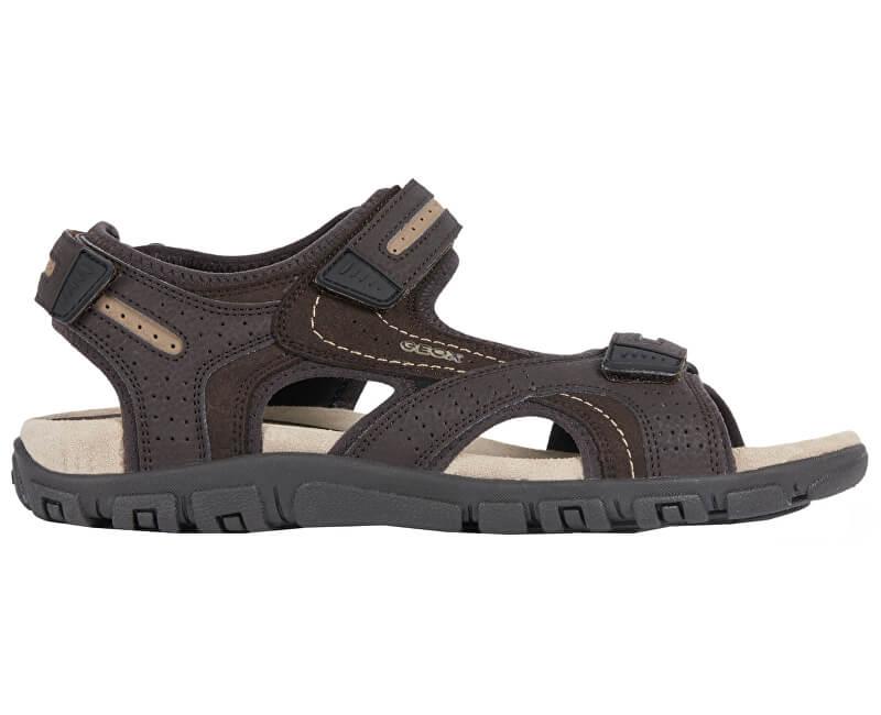 9830c3680de4 GEOX Pánské sandále Uomo Sandal Strada D Brown Sand U8224D-050AU-C0705  Novinka