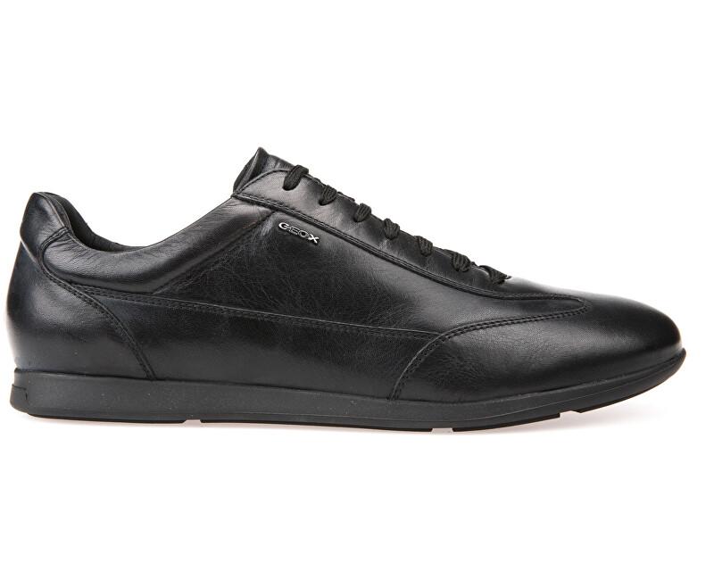 GEOX Pánské sportovní tenisky Clemet Black U722FA-00085-C9999