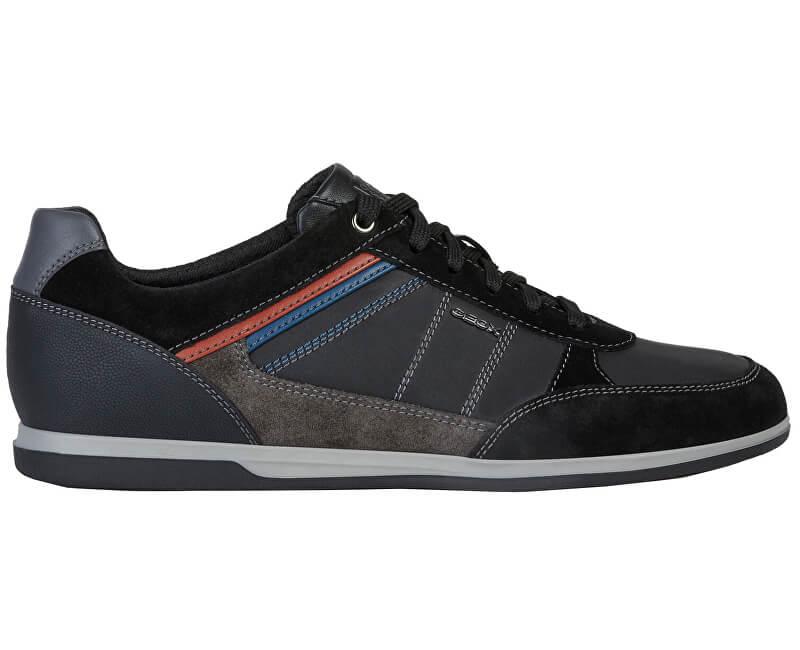 Geox Adidasi pentru bărbați U Renan Black/Mud U824GB-04322-C9355