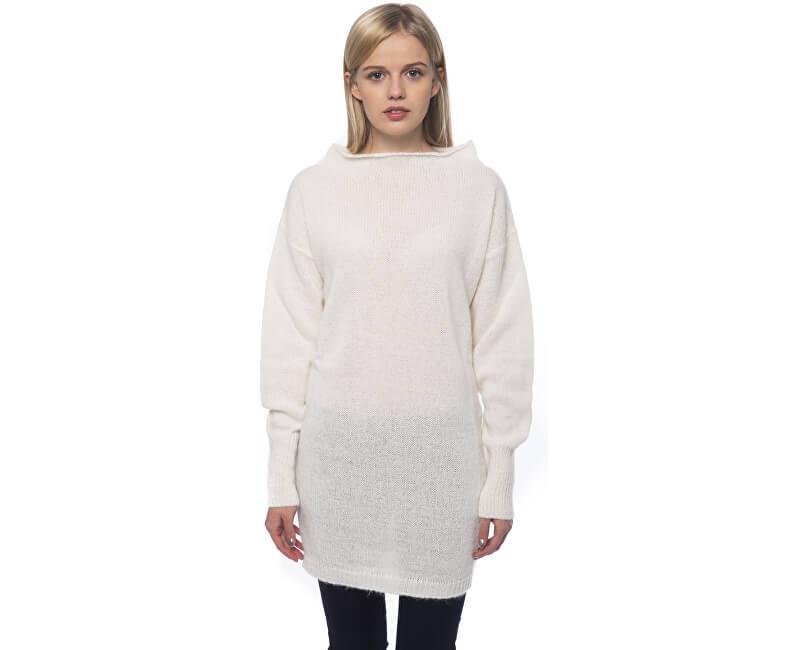 GAS Pulover pentru femei White Wool 585211 431722
