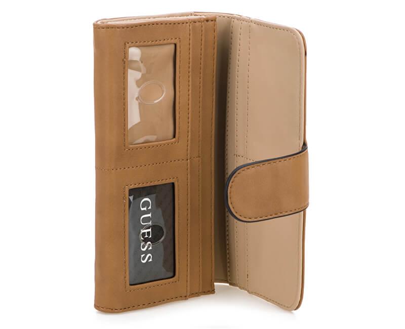 fe0ace5260 Guess Elegantná dámska peňaženka Julia na FileClutch in Cognac.  Predchádzajúci  Ďalšie