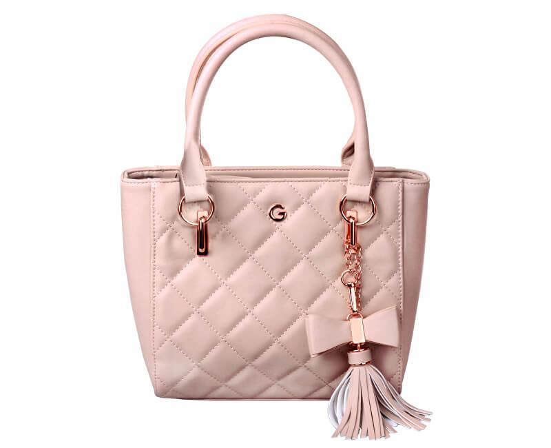 12e1a3dbb Guess Dámská kabelka Amanda Quilted Mini Tote Bag Blush - SLEVA 558 ...