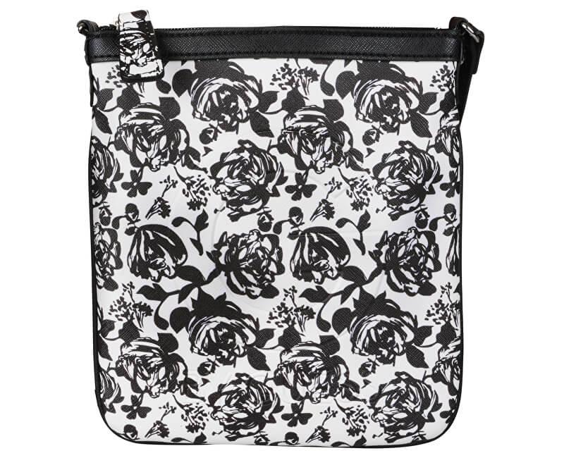 Guess Dámská kabelka Gilman Floral Crossbody Black Multi Doprava ... 3d86755da30