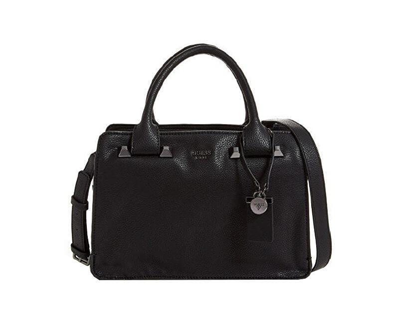 Guess Dámska kabelka Talana Girlfriend Satchel Black Doprava ZDARMA ... d21bda855dd