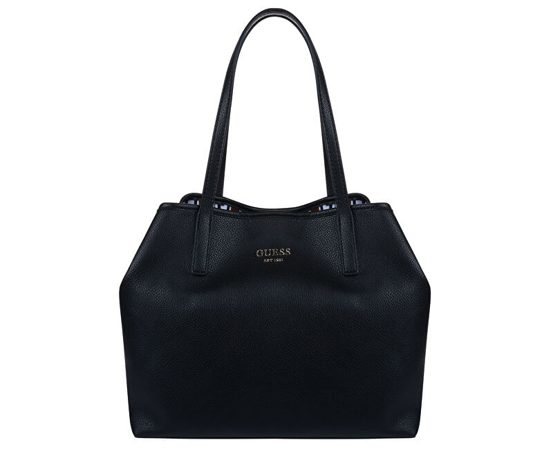 Vikky Tote Gratis Handtasche Guess Hwvg69 Black Versand Damen 54xqa