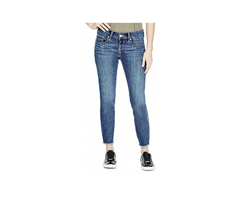6d3b3620385c Guess Dámske nohavice Lillie Raw-Hem Ankle Jeans Doprava ZDARMA ...