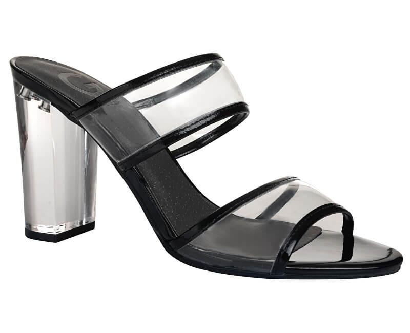 Guess Sandalele pentru femei G de GUESS Br ayla Lucite Mules ... 67a7ad0700d