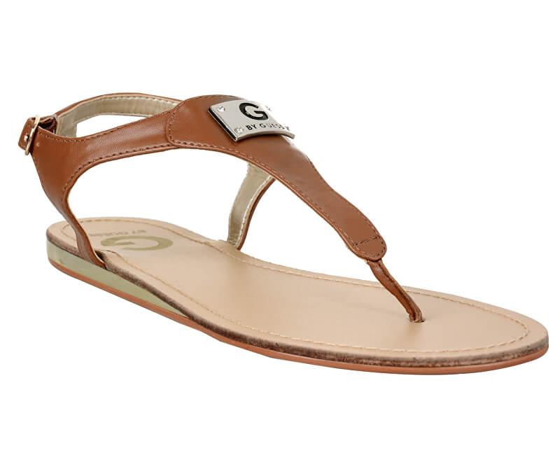 c304bde2ee75 Guess Dámské sandále G by GUESS Carmela T-Strap Sandals Brown ...