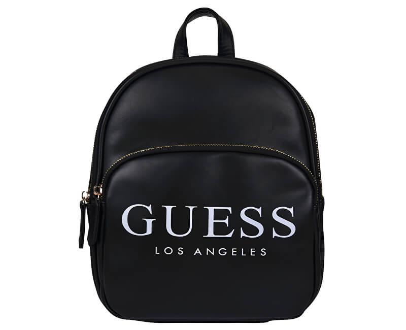 Guess Dámský batoh Logo Small Backpack Black - SLEVA 508 Kč Doprava ... 9aa8c8b961