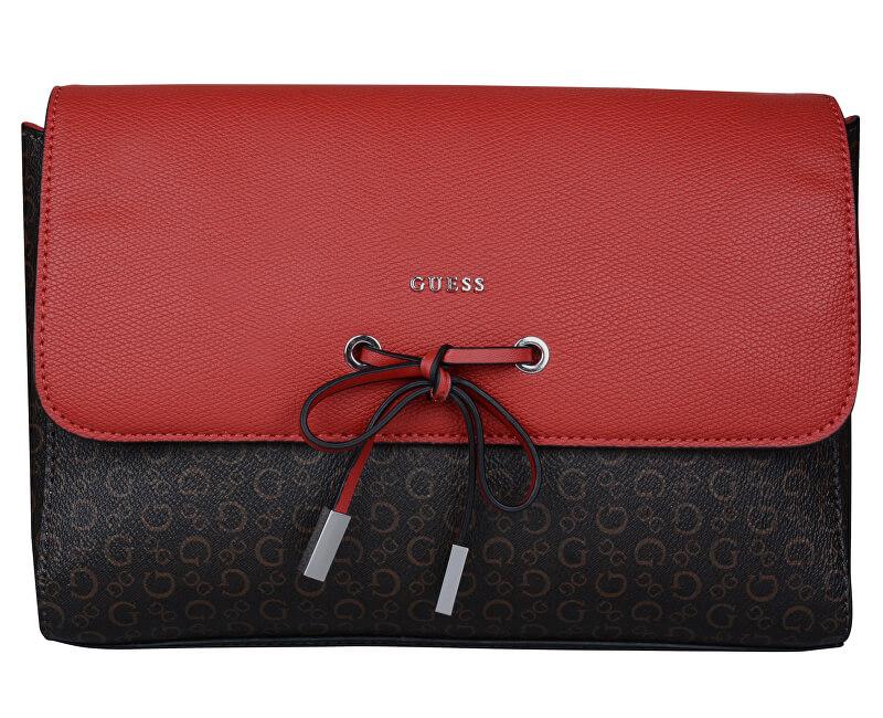 Guess Geantă elegantă pentru cruce Factory Women´s Smoke Logo Red ... e8e84f99256