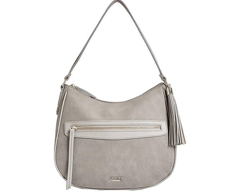 Guess Elegantní dámská kabelka Factory Women`s Lola Hobo Bag Grey
