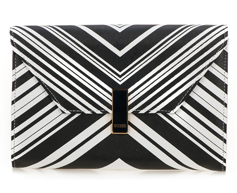Guess Elegantní kabelka Women`s Brynna Flap Clutch Multi