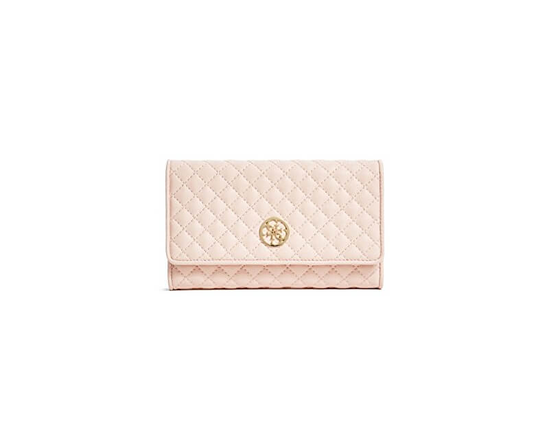 Guess Portmoneu elegant Classic Quilted Wallet and Pouch Pink