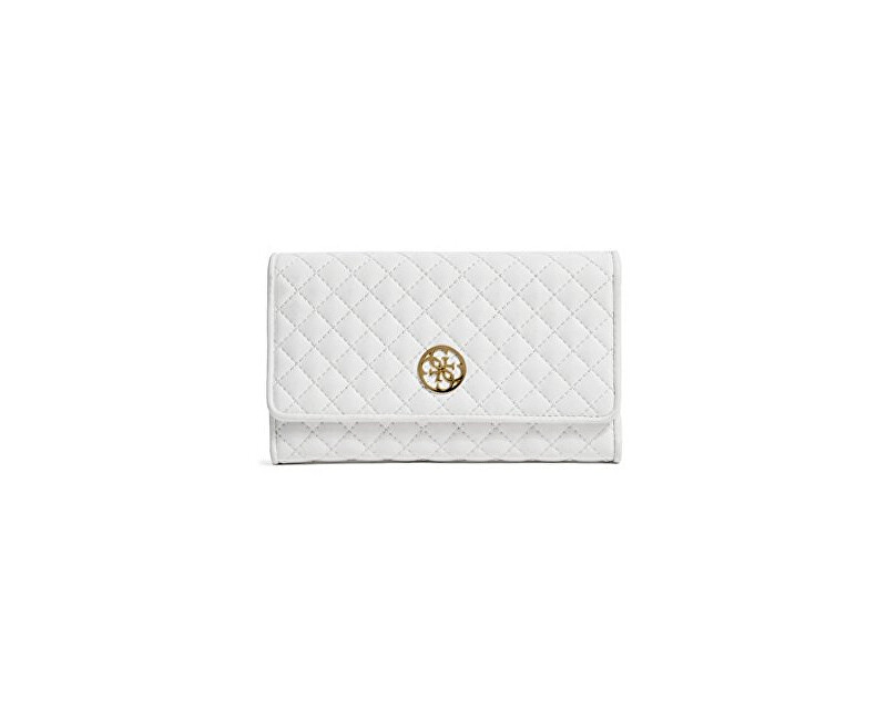 Guess Portmoneu elegant Classic Quilted Wallet and Pouch White