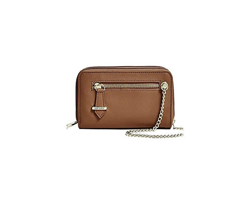 Guess Portofel elegant G by GUESS Women`s Janie Double-Zip Tech Wristlet