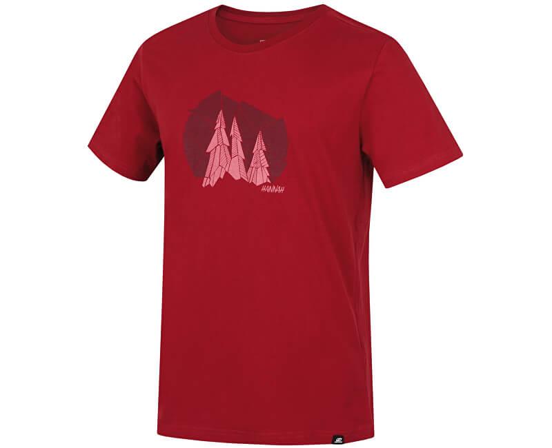 Hannah Pánské triko Emblem Brick Red