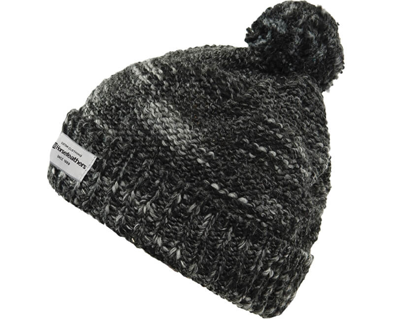 Horsefeathers Čepice Tania Beanie Heather Black AA984A