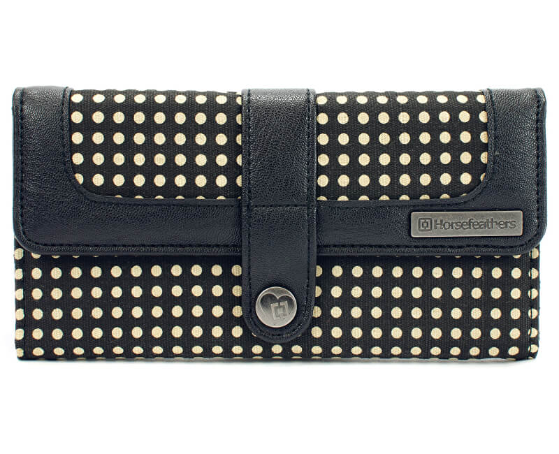 Horsefeathers Wallet Mandy Black AA830C