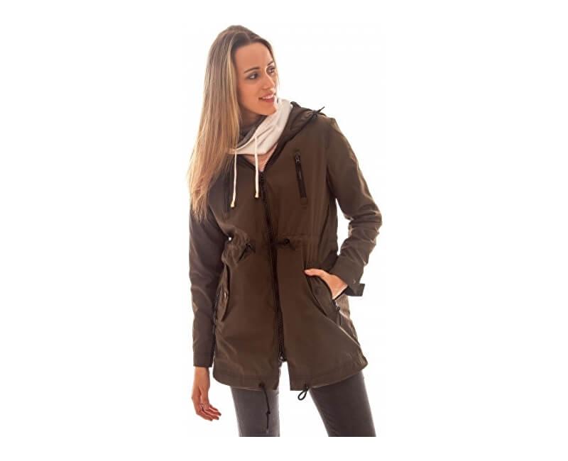 Heavy Tools Női kabát Nanji W17-450 Khaki Akcióban d1b182b02d
