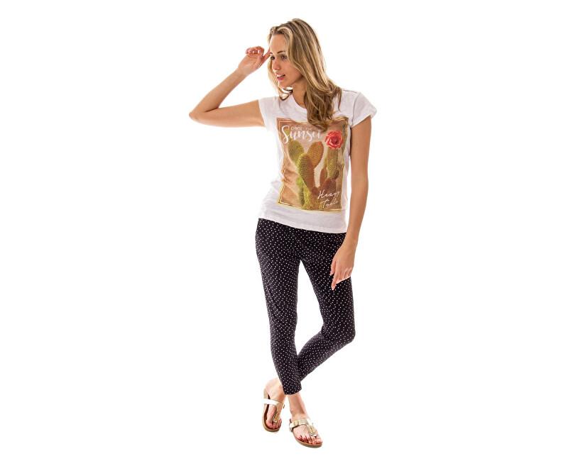 Heavy Tools Pantaloni pentru femei Zita S17-291 Dotted