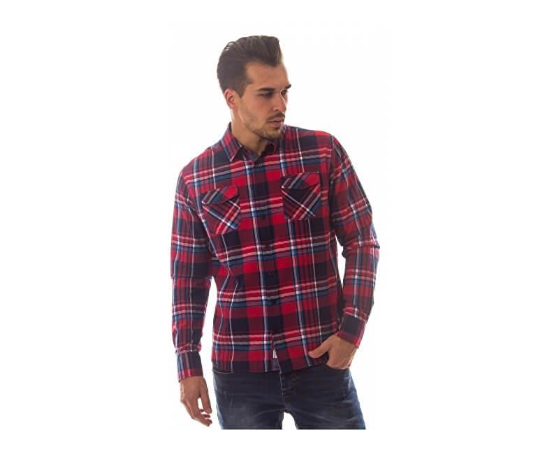 Heavy Tools Pánská košile Rudny W17-412 Red