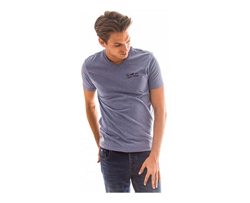 Heavy Tools Pánské triko s krátkým rukávem Mauri W17-234 Lightblue