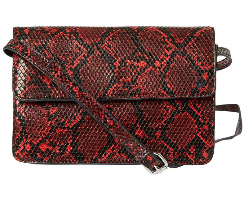 Pieces Doamnelor crossbody geantă de mână PCJULIE CROSS BODY Racing Red
