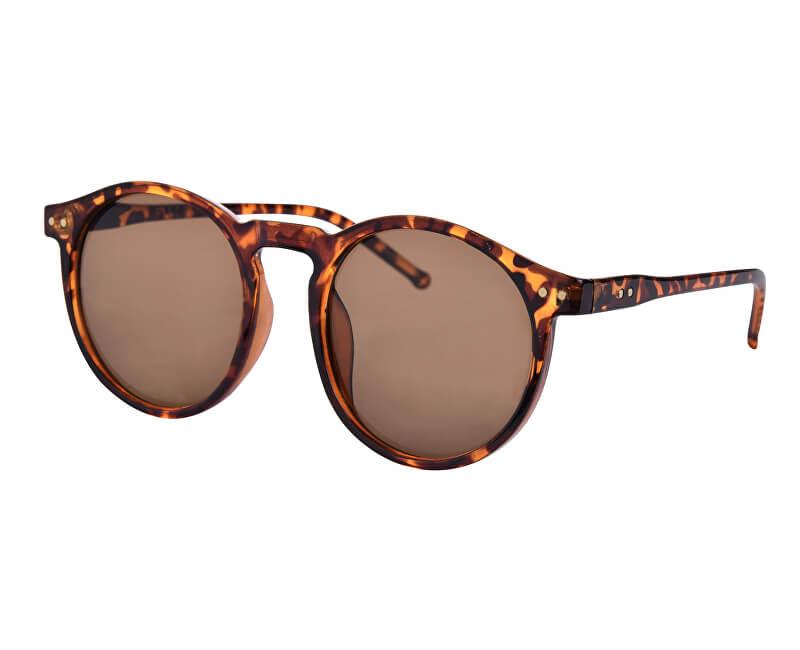 Pieces Dámske slnečné okuliare Centucky Sunglasses Coffee Bean