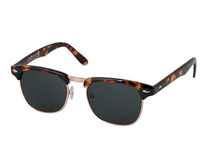 Pieces Dámske slnečné okuliare Emmely Sunglasses Coffee Bean