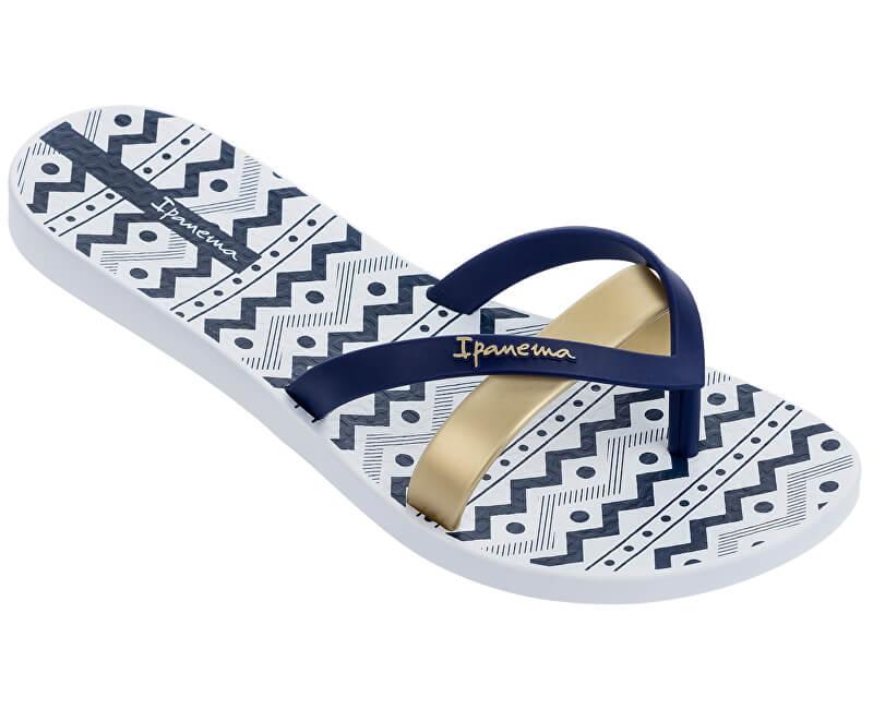 ceb700d99ccf Ipanema Dámské žabky Kirei Silk III Fem 82289-24495 White Blue ...