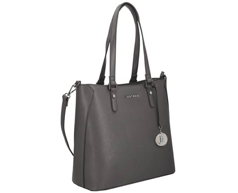 JustBag Dámska kabelka 3751 Dark Grey