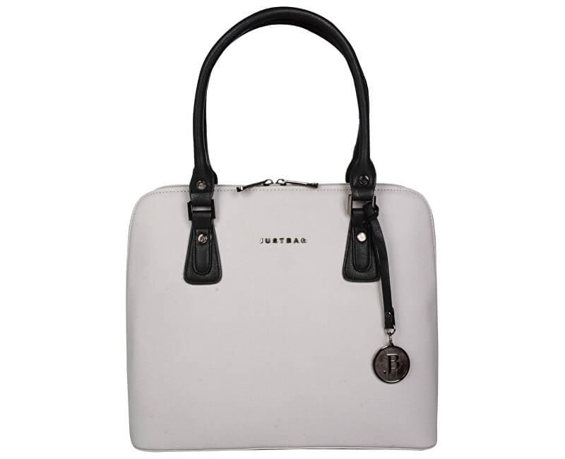 JustBag Dámská kabelka Grey Black YF1708-796 Doprava ZDARMA ... da9c5f96f61