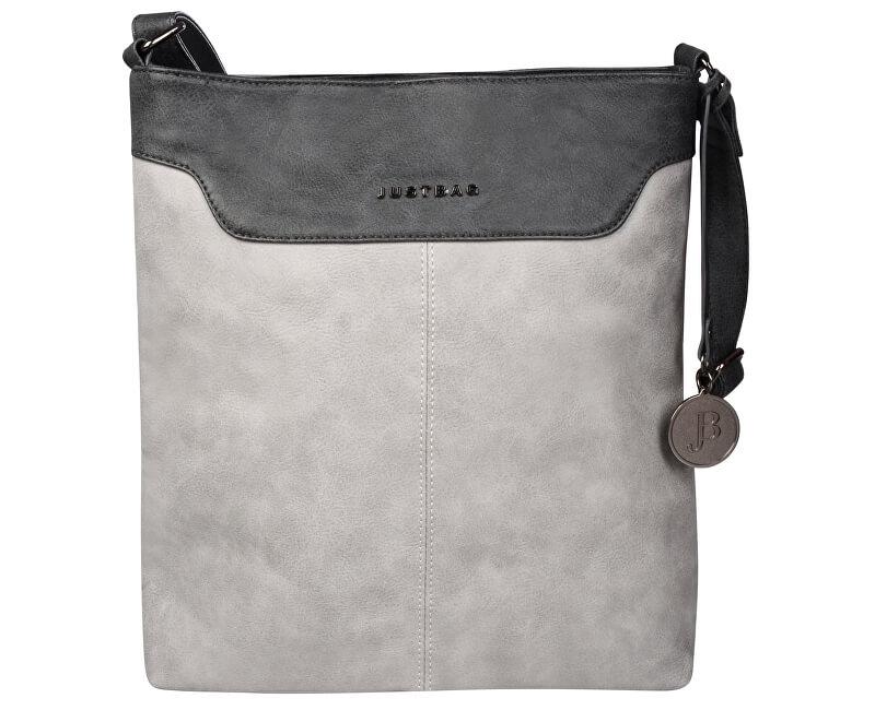 JustBag Dámská kabelka Grey/Dark grey YF1708-770