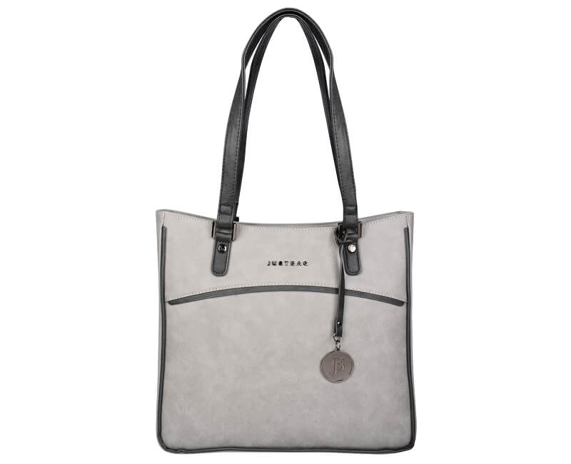 JustBag Dámská kabelka Grey/Dark grey YF1708-775