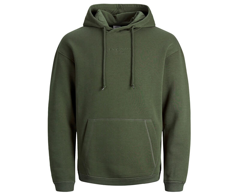 Jack&Jones Pánska mikina Jortopipop Sweat Hood Forest Night