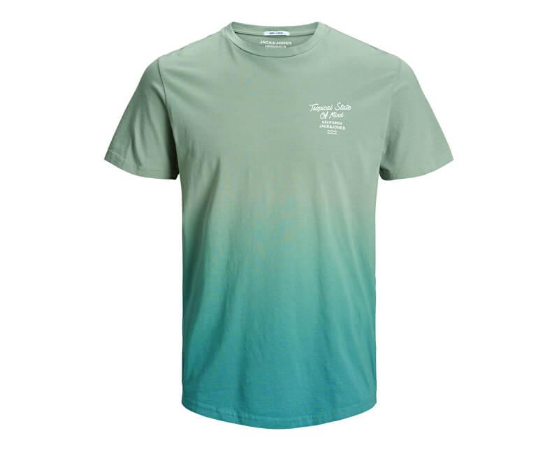 Jack&Jones Pánske tričko Jordeeper Tee Ss Crew Neck Green Bay Reg