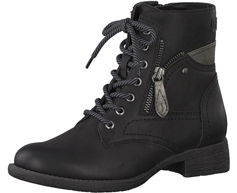 Jana Dámské kotníkové boty 8-8-25217-21 001 Black ... 280ae50a25
