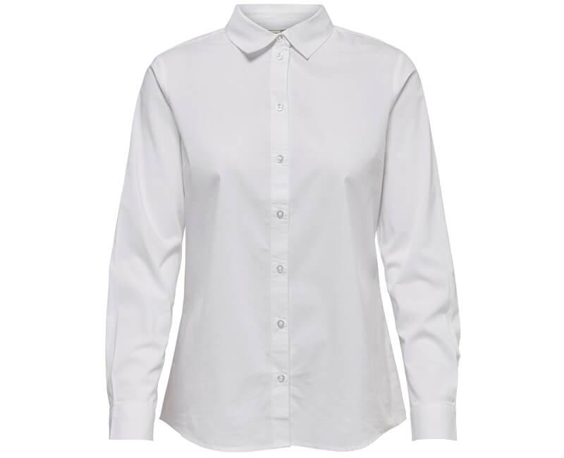 Jacqueline de Yong Dámska košeľa Mio L/S Shirt Wvn Noosa White